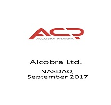The International team  counseled Alcobra Pharma Ltd in a unique transaction, known as a Reverse IPO.