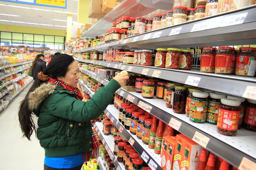 Changes in the food industry in China