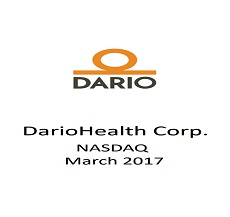 DarioHealth Corp. Prices offering of 1,450,000 Shares of Common Stock in amount of approx $4.5 million