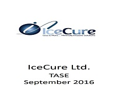 The firm represented IceCure Medical Ltd. in a fund raising