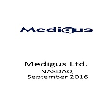 Our firm served as U.S. counsel to Medigus Ltd. in a registered direct offering with gross proceeds of approximately $1.47 million
