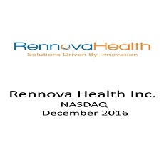 ZAG-S&W represented Aegis Capital Corp. as Lead Placement Agent in a private placement offering of Rennova Health Inc.