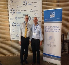Adv. Mor Limanovich from our Tel Aviv office and Adv. Mitch Stein from our Boston office participate in Adtechisrael