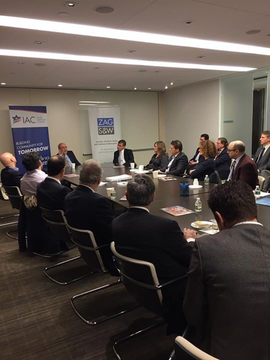 Israel American Counsel Breakfast Club