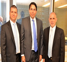 Our New York office hosts UN Ambassador Mr. Danny Danon