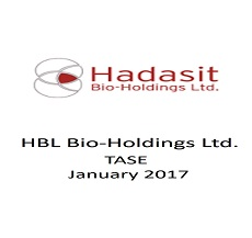 HBL- Hadasit Bio-Holdings raised NIS 4.8 in a right offering