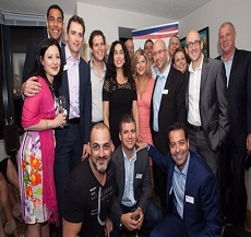 Our New York office hosts the Israeli American Council – IAC. In the photo Adv. Oded Har-Even with conference participants