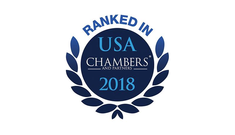 Chambers USA 2018