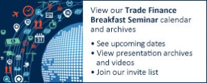 Trade Finance Breakfast Seminar calendar and archive link